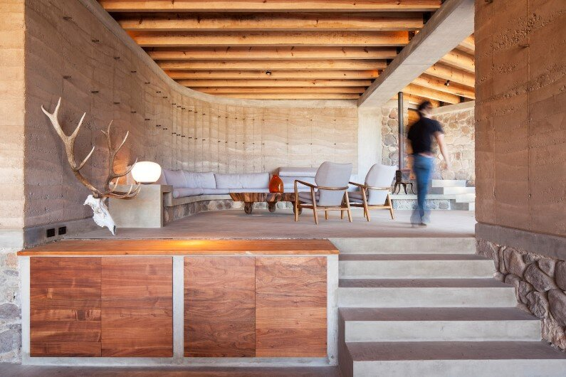 Cave House wonderful architectural project by the Mexican design studio Greenfield