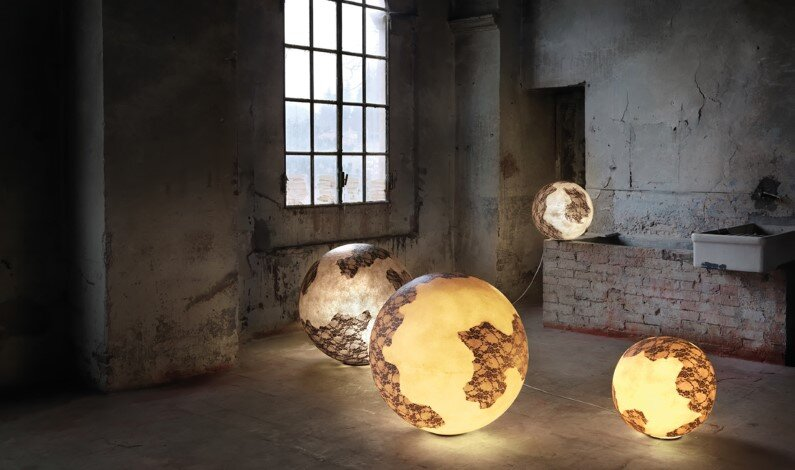 Collection of lamps by the Italian designer Mateo Ugolini