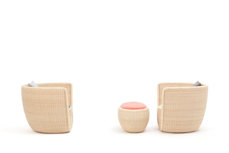 Furniture collection by Japanese designer Hiroomi Tahara