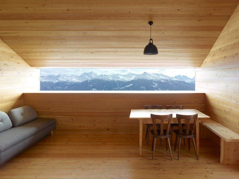 Gaudin House- old barn converted by Savioz Fabrizzi Architectes studio