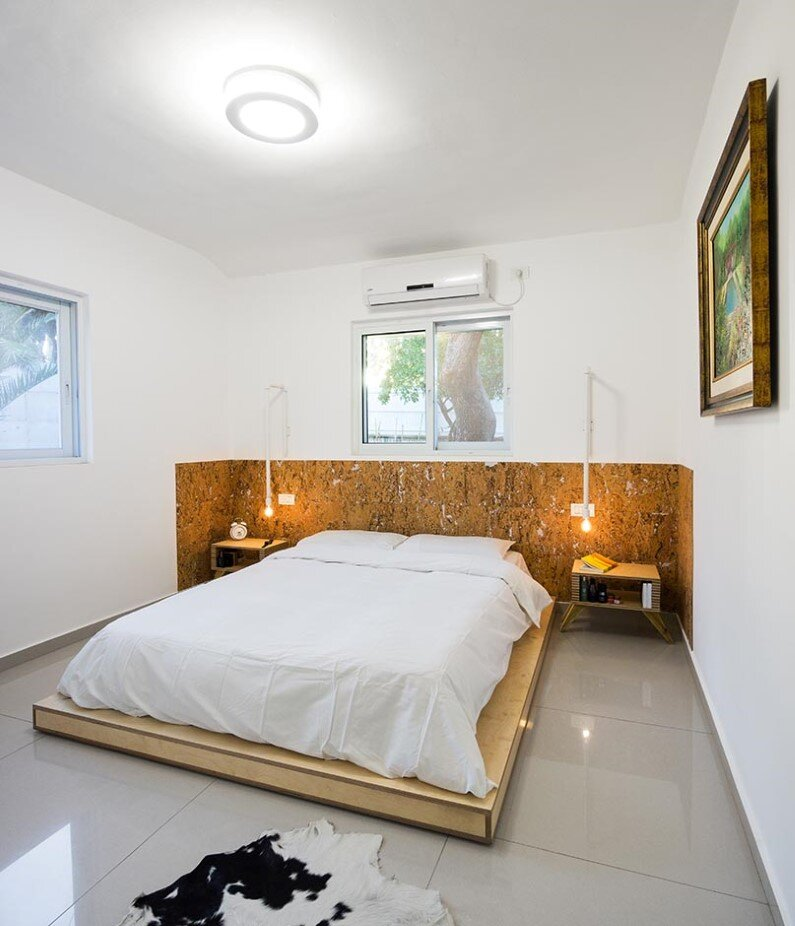 Moshav House redesigned by Rotem Guy - bedroom