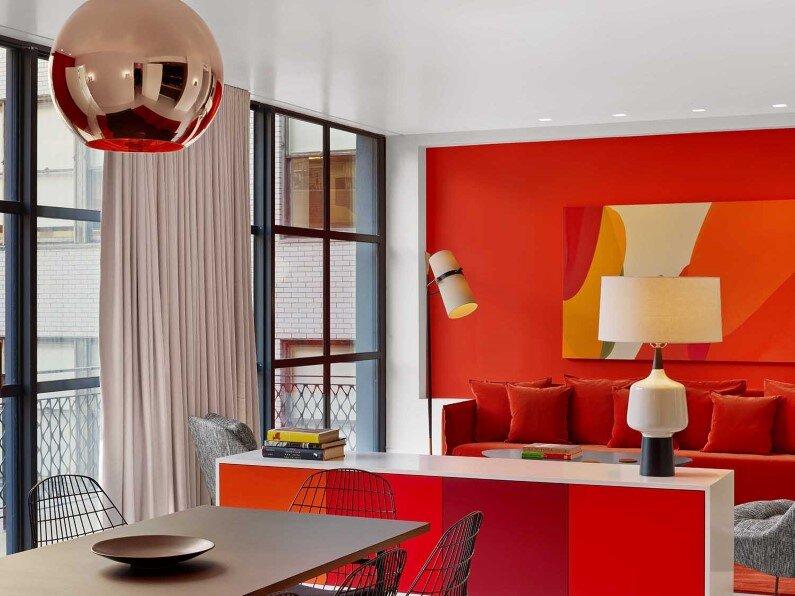 In Situ Design, Lilian B Interiors and artist William Engel - project hotel design