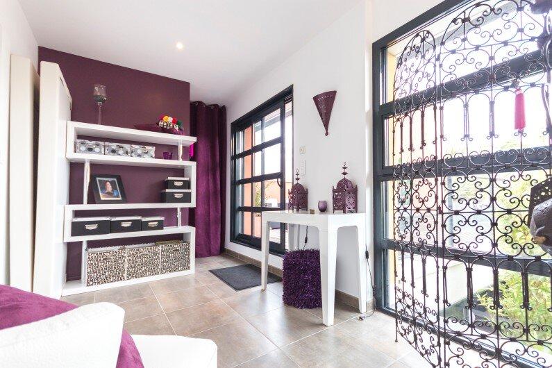 Interiors- French villa