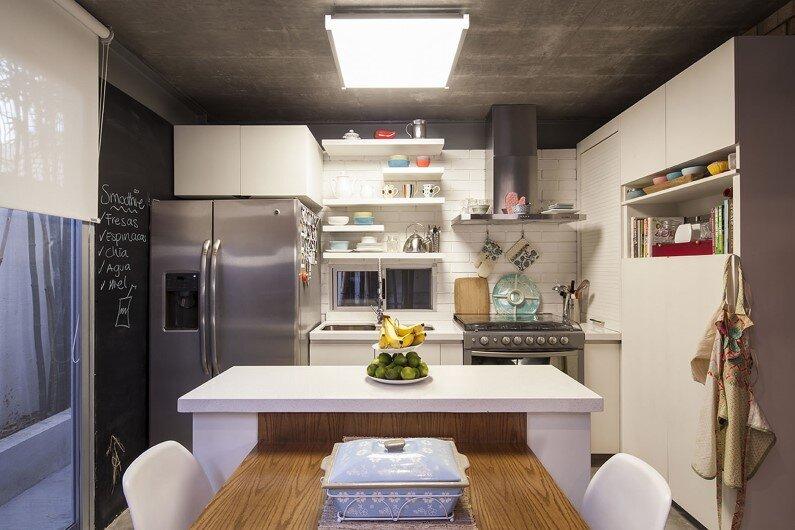 Kitchen - House by Garza Camisay Arquitectos, Monterrey, Mexico