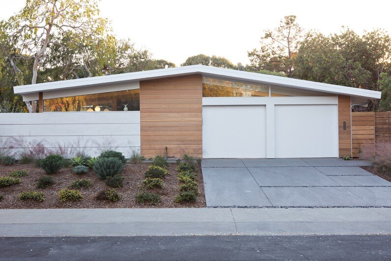 Truly open eichler house renovated single family house in for Eichler designs
