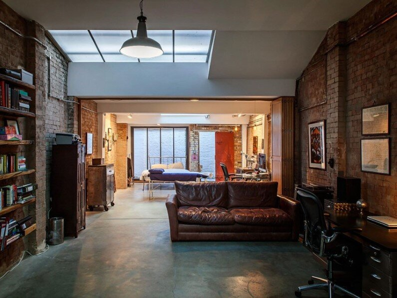 Shoreditch warehouse conversion by Chris Dyson Architects (1)
