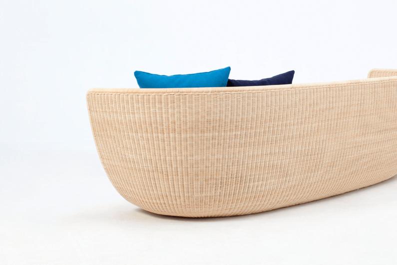 Sofa by Japanese designer Hiroomi Tahara
