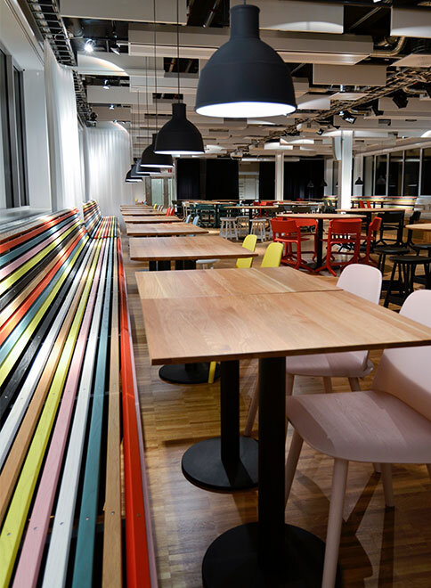 Spotify offices located in Stockholm, Sweden