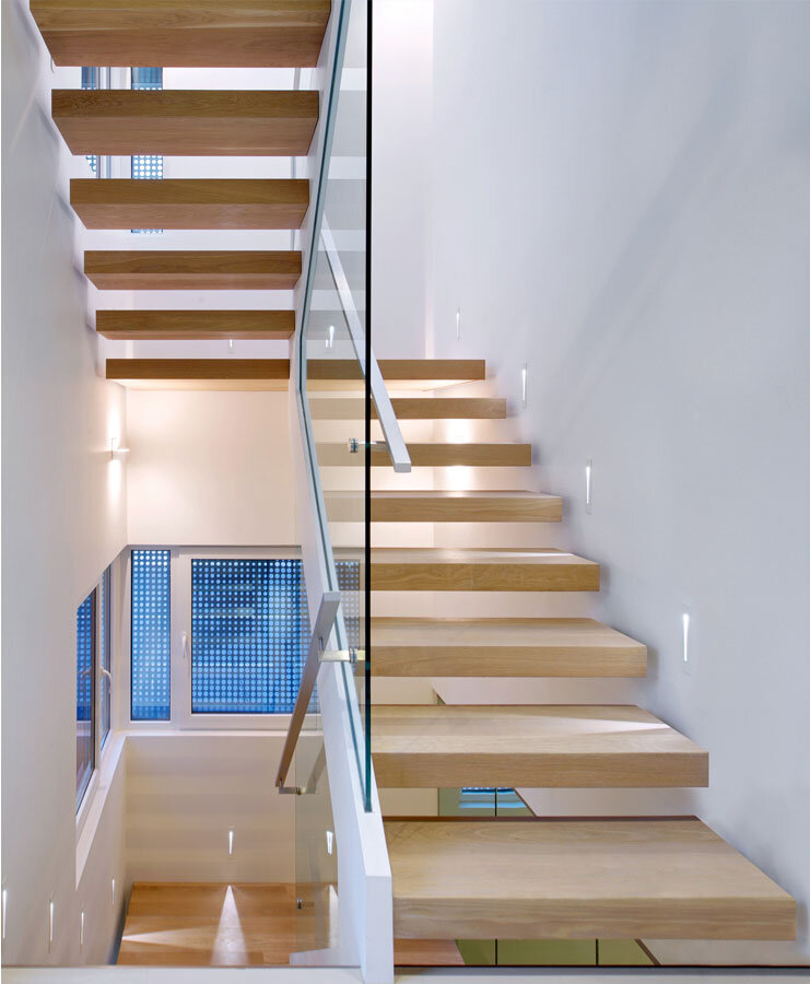 Stairs interior by Studio Roundabout
