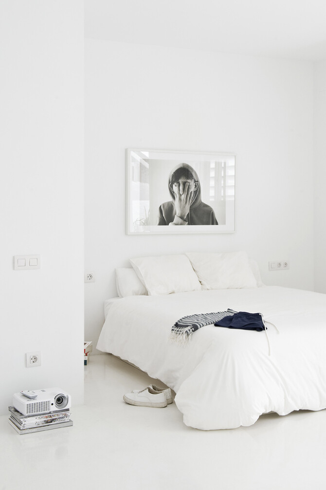 Studio CaSA -bedroom - The White Retreat