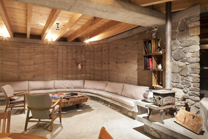The Cave House - interiors by the Mexican design studio Greenfield