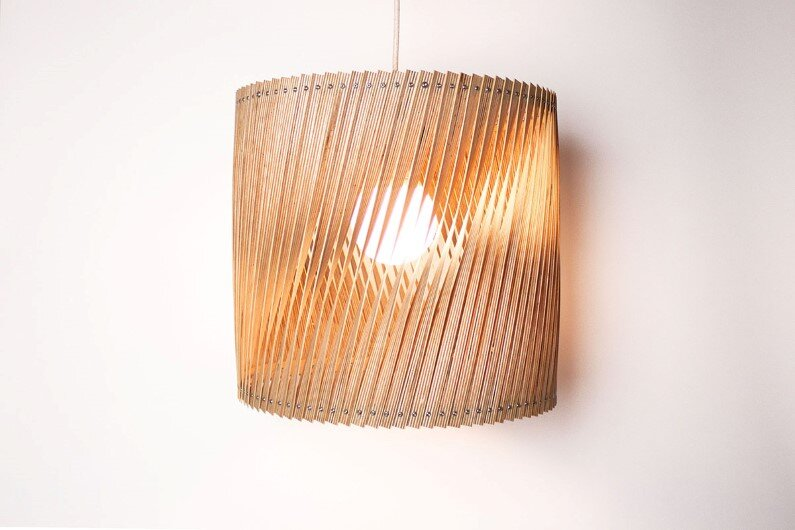 Upcycle - collection of handmade lamps (20)