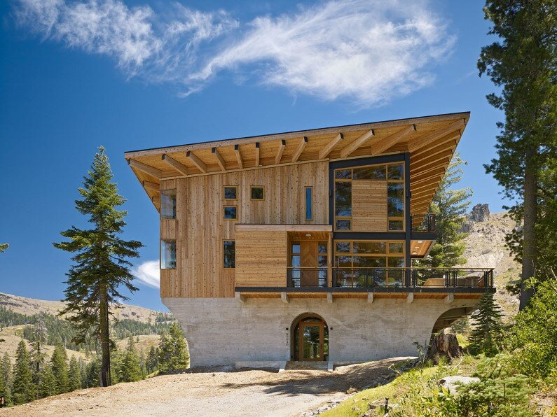 Vacation house in California - Crow's Nest Residence panorama