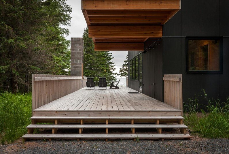 Vacation house in Minnesota by Salmela Architect