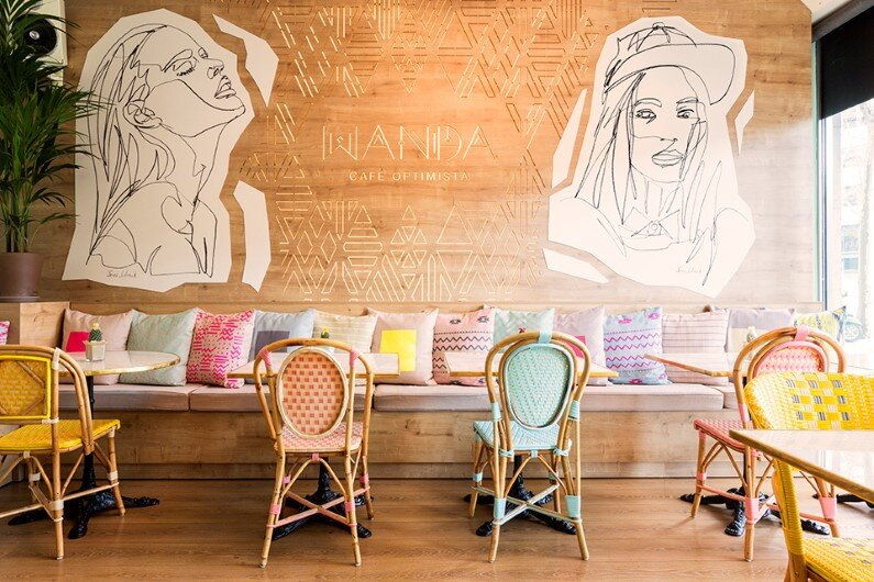 Wanda Café Optimista by Spanish designer Parolio
