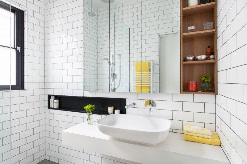 bathroom - Balaclava House