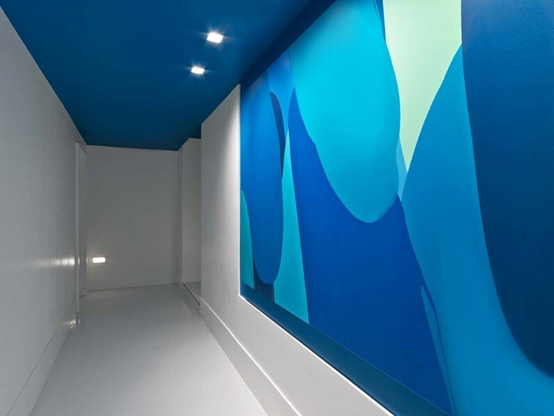 hotel - interior design- In Situ Design, Lilian B Interiors and artist William Engel