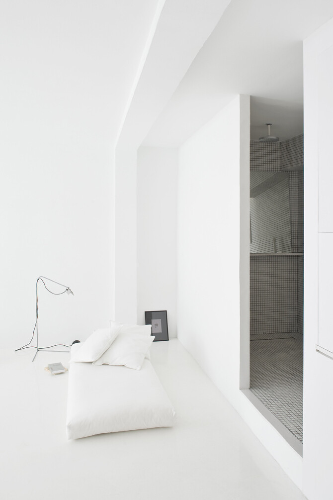 interior design - The White Retreat, Sitges, Spain