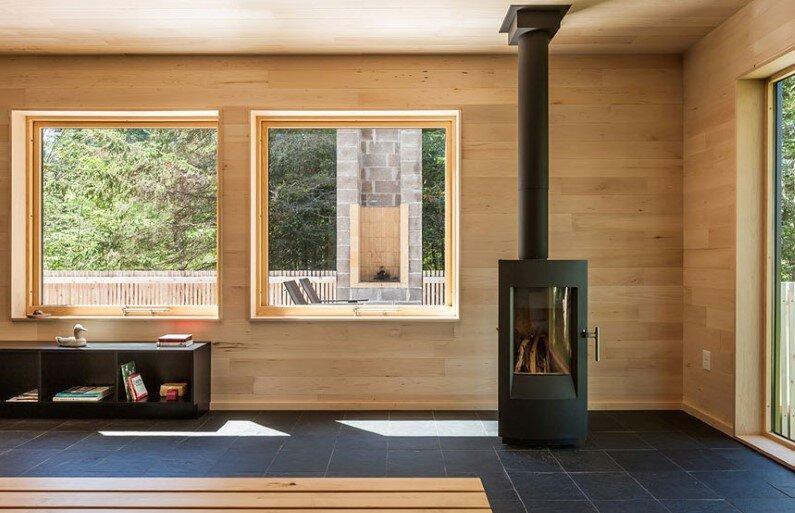Interiors - livingroom by Salmela Architect
