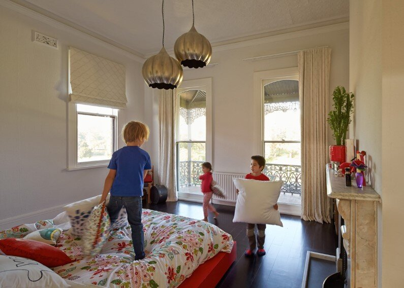 kids room - Victorian house in Melbourne