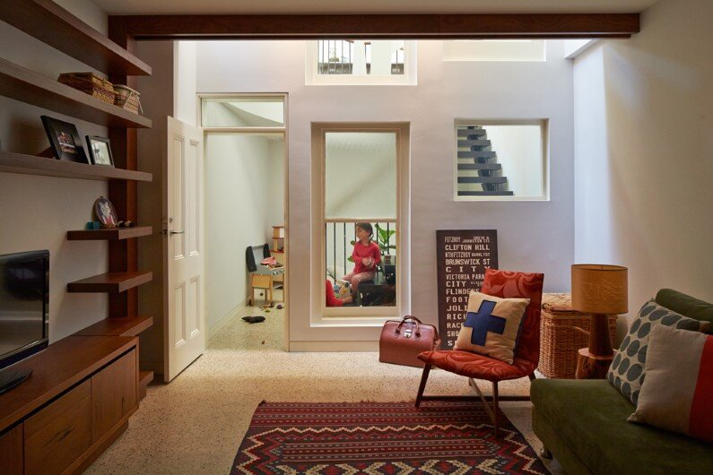 living - restoring a Victorian house in Melbourne