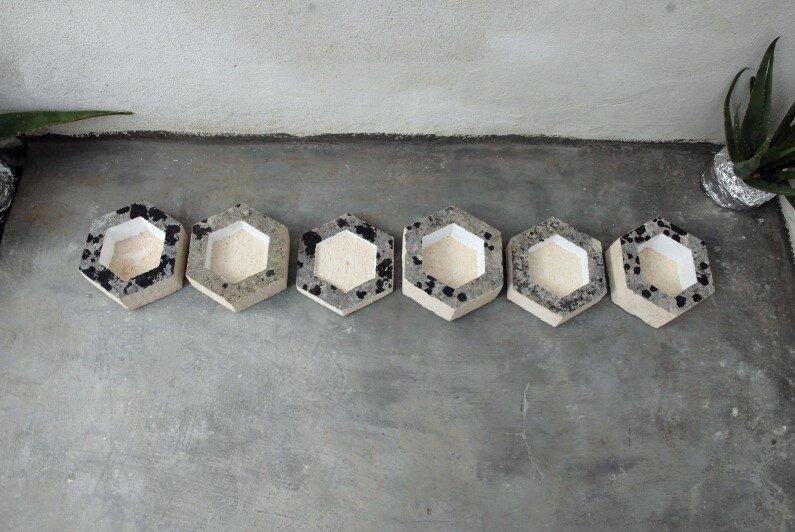 modular bowls by Cosma Frascina