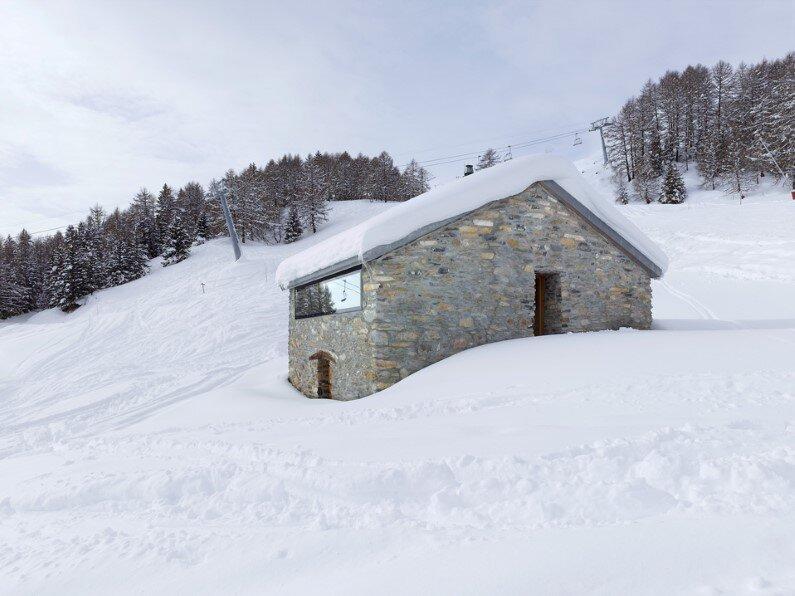 small cottage in Anzere, Switzerland