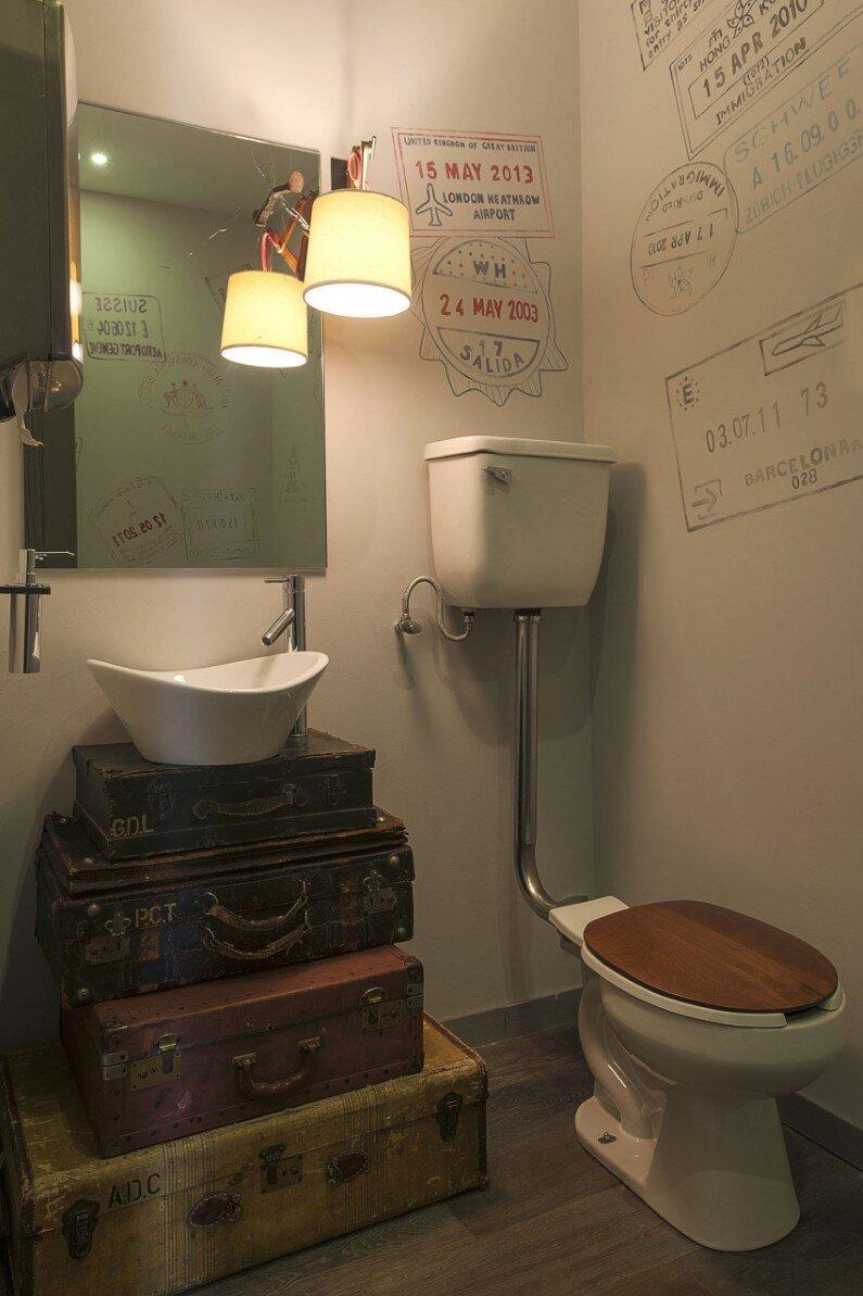 vintage bathroom - Kababie Arquitectos