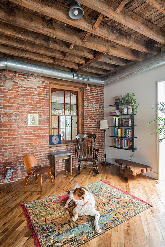 1880's warehouse converted in house