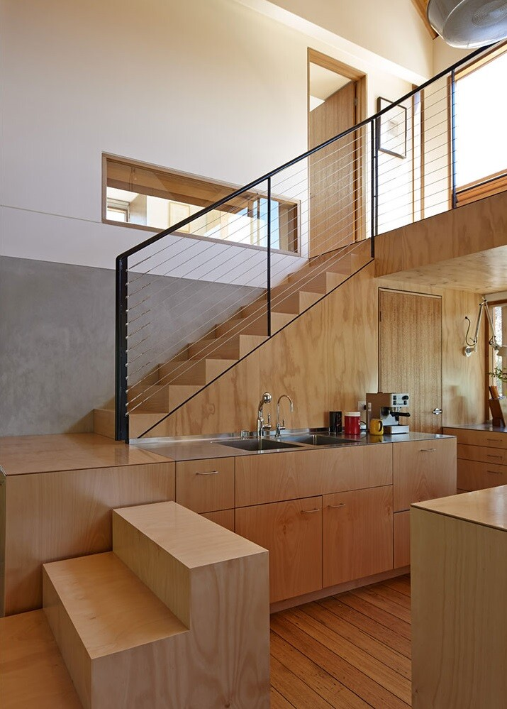 A heritage-listed chicory kiln on Phillip Island has been converted into a family residence