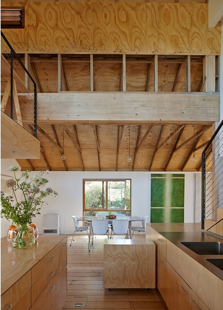 Andrew Simpson Architects - wooden house