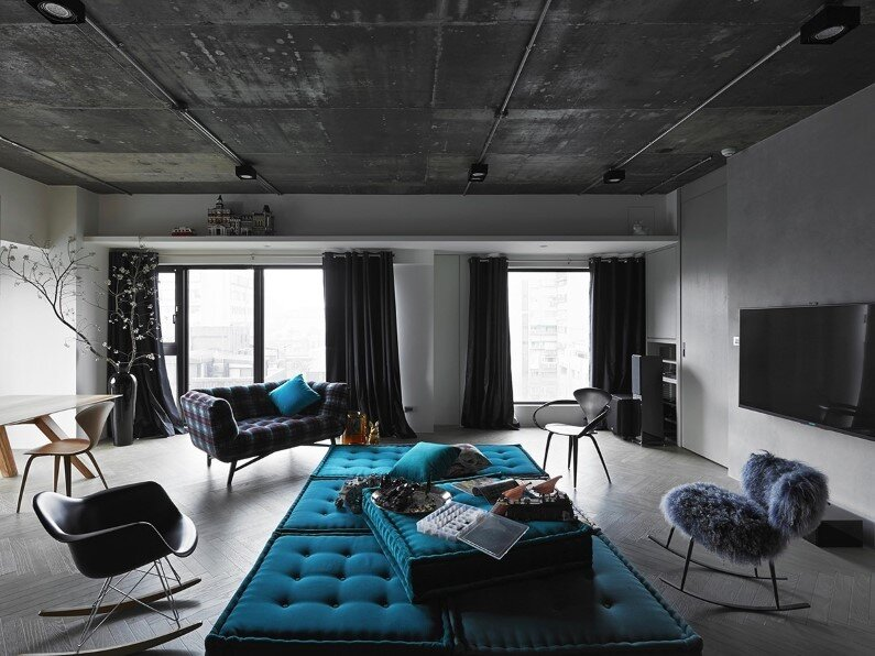 industrial studio apartment. At Will Apartment  By Ganna Design Studio Apartment Combination Of Elegance And Industrial