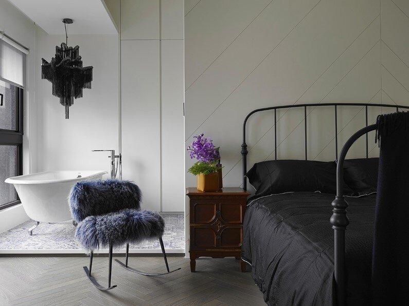 At Will apartment - combination of elegance and industrial design - Elegant design by Ganna Design Studio