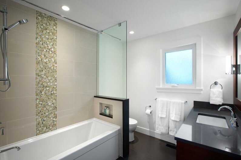 Bathroom - House designed by Sarah Gallop Design