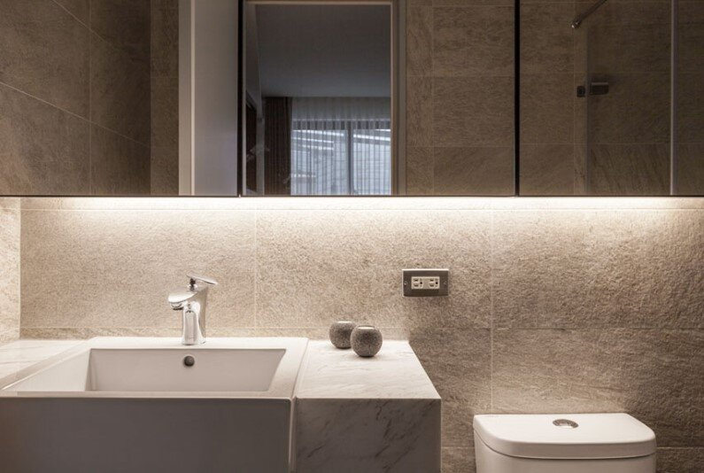 Bathroom design by Chi-Torch, Taipei, Taiwan