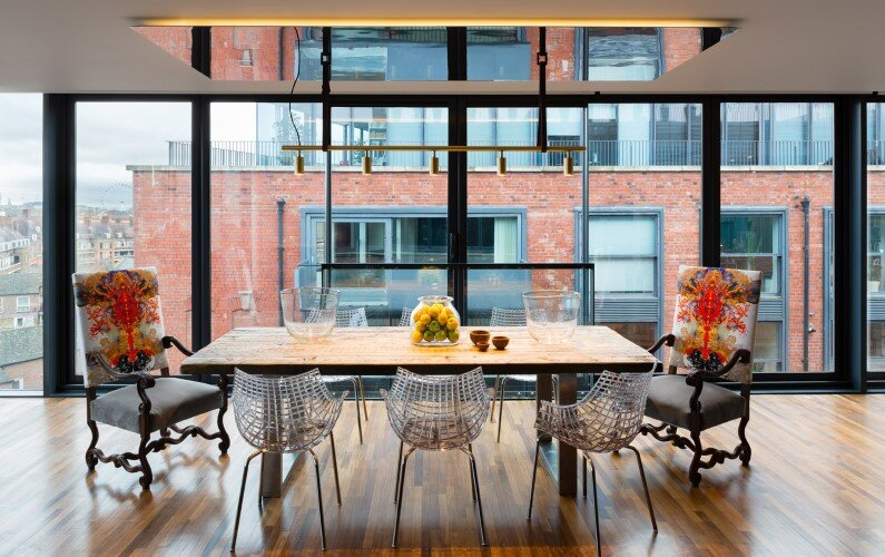 Bermondsey penthouse apartment designed by Daniel Hopwood - London