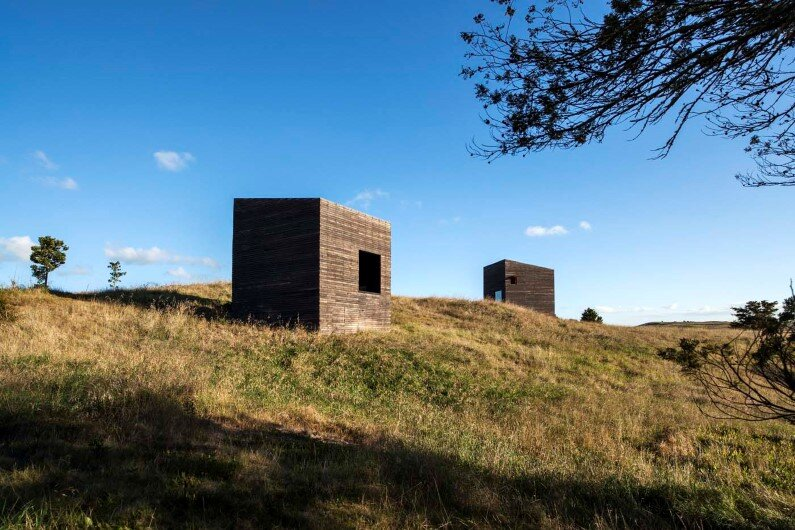 Cabins by Cheshire Architects - New Zealand