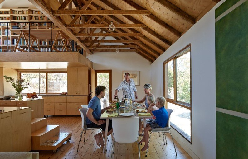 Chicory kiln converted into a  home by Andrew Simpson Architects and Charles Anderson, Australia