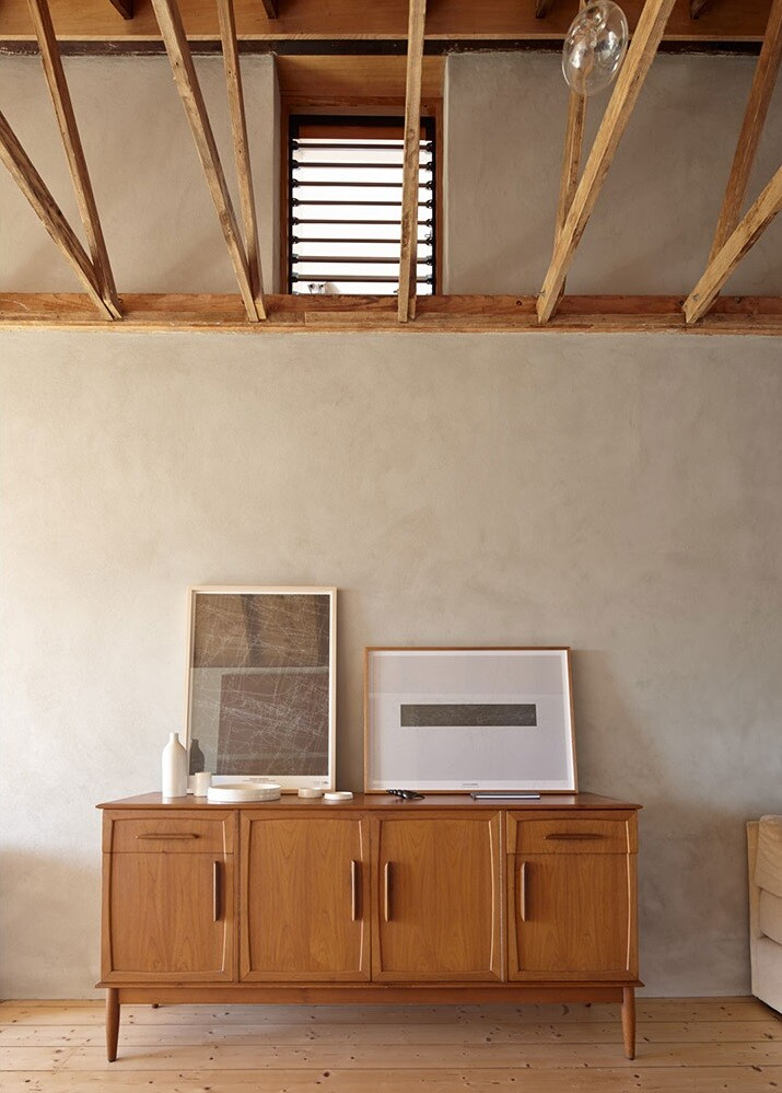 Chicory kiln converted into wooden house