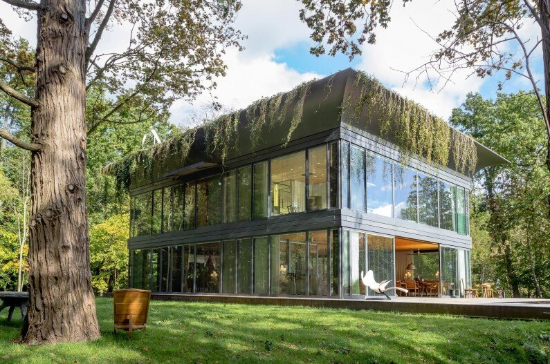 Green House with high eco-technology systems