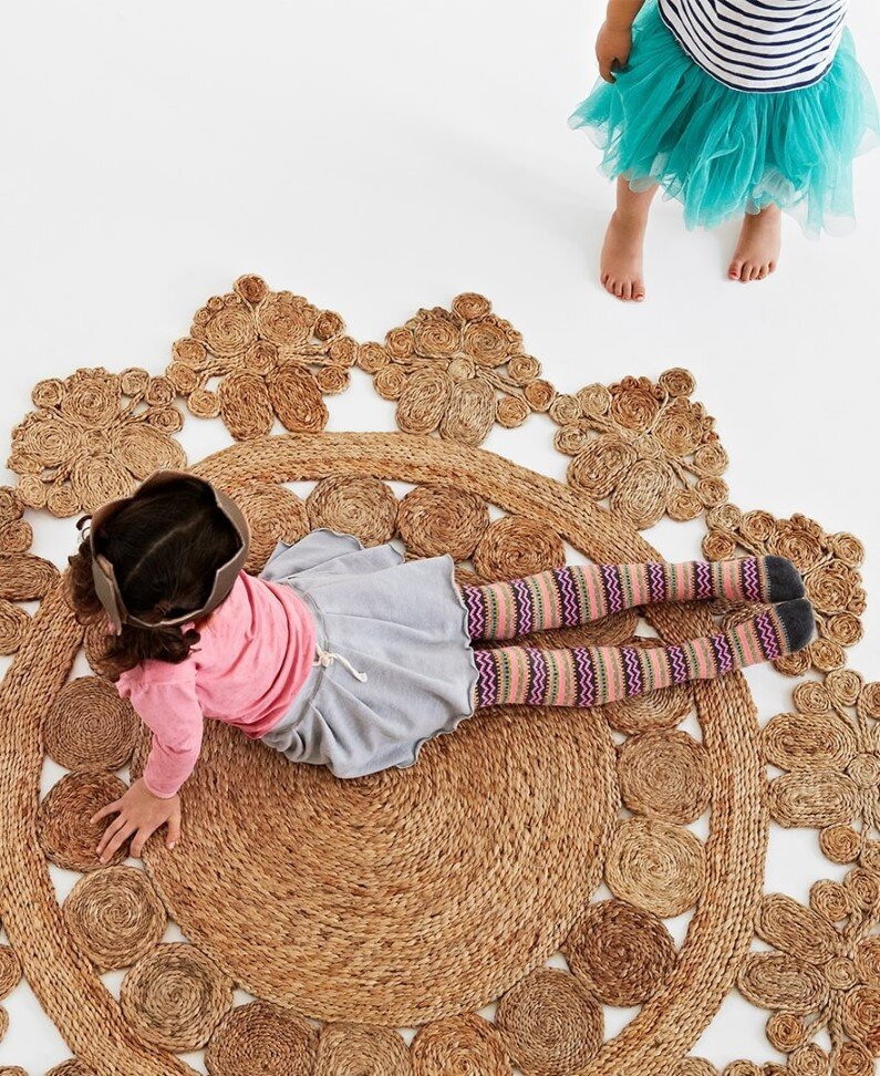 Handmade rugs for children's rooms - Armadillo & Co