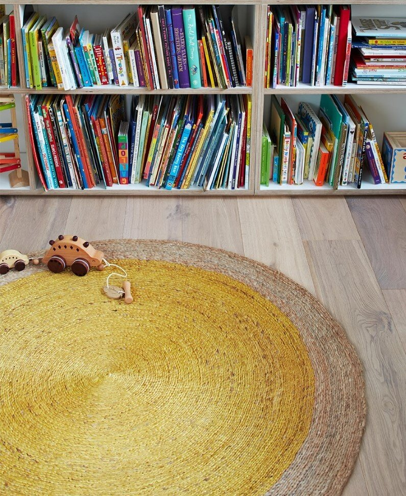 Handmade rugs for children's rooms - Armadillo
