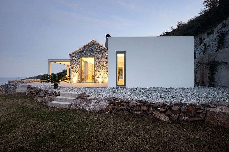 House by Studio 2Pi Architecture in collaboration with architect Valia Foufa