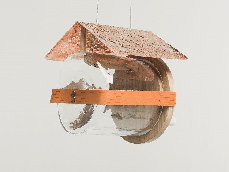 House for rich birds Oli-bird by Nikolo Kerimov