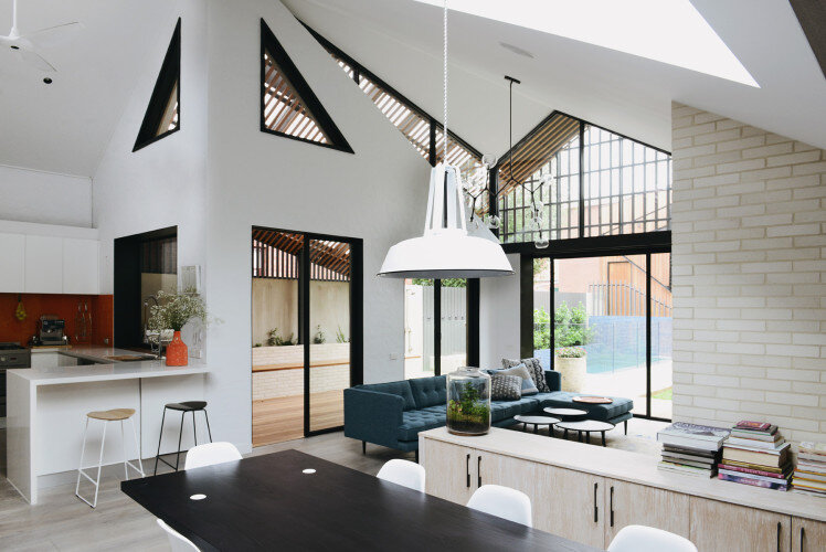 House for young family by MRTN Architects