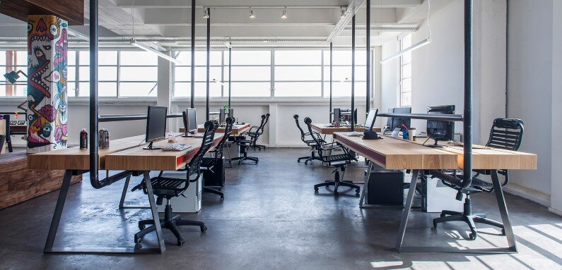 Industrial Style Workspace Roy David Architecture