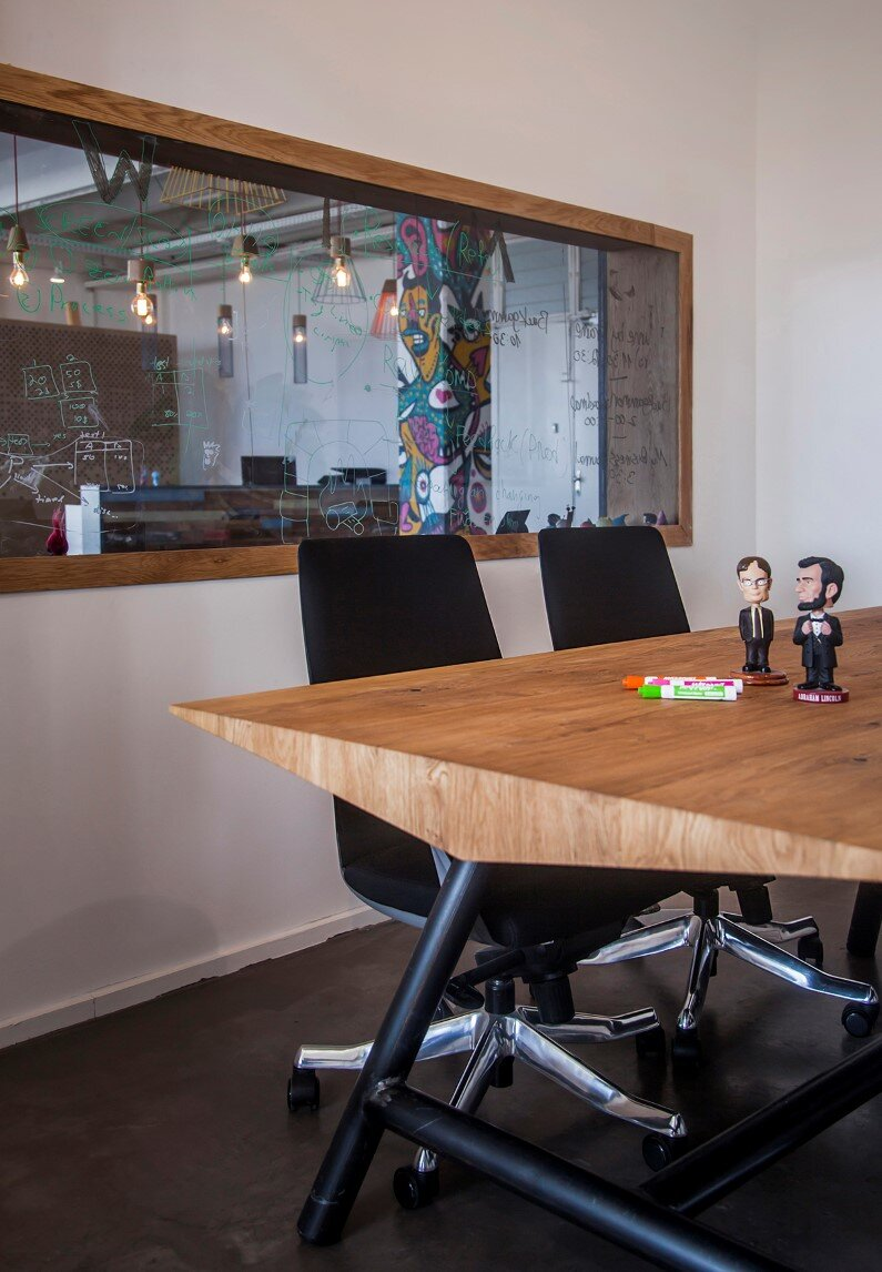 industrial style office. Industrial Style Workspace Designed By Architect Roy David - Jelly Button Games And Hamutzim Studio Office