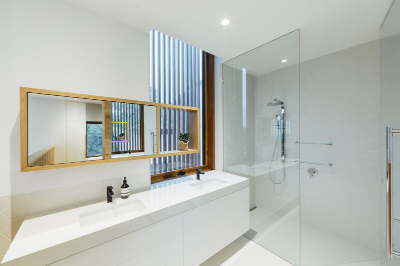 Invermay House, Moloney Architects, bathroom