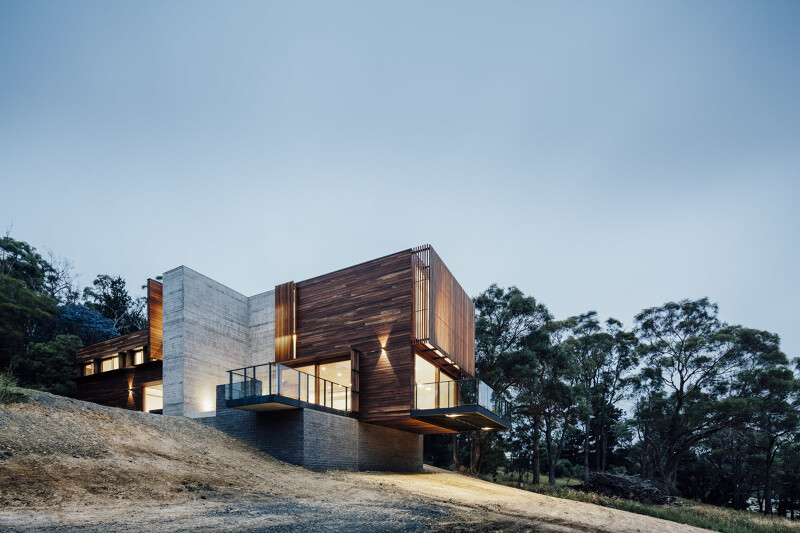 Invermay House - modern architecture by Moloney Architects