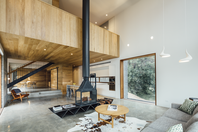 Invermay House -residential project by Moloney Architects, Ballarat, Victoria